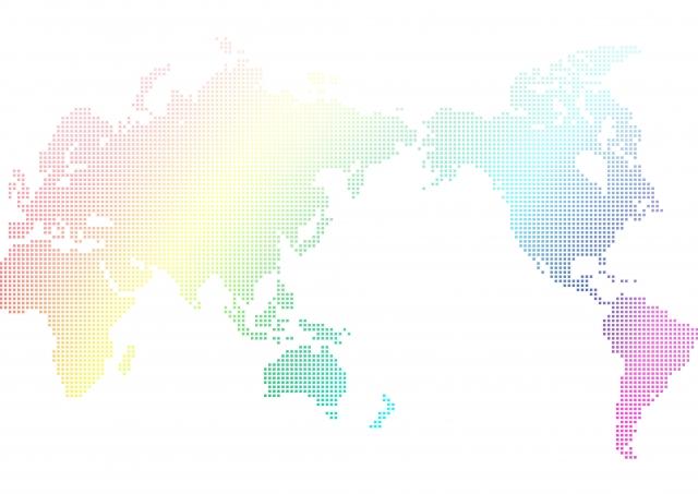 虹色の世界